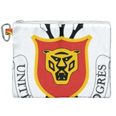 Coat Of Arms Of Burundi Canvas Cosmetic Bag (xxl) by abbeyz71