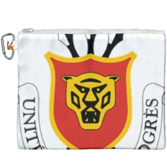 Coat Of Arms Of Burundi Canvas Cosmetic Bag (xxxl) by abbeyz71