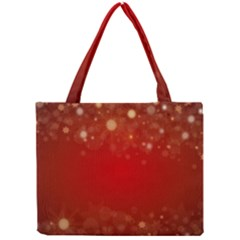 Background Abstract Christmas Mini Tote Bag