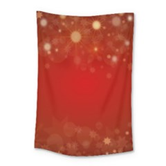 Background Abstract Christmas Small Tapestry