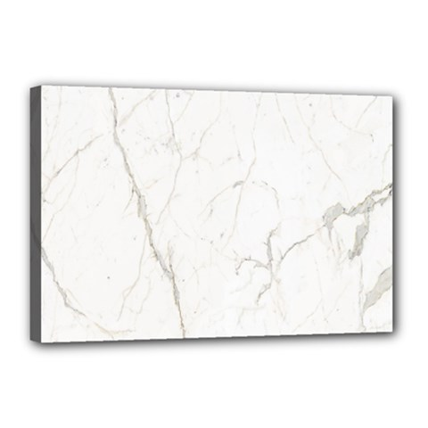 White Marble Tiles Rock Stone Statues Canvas 18  X 12