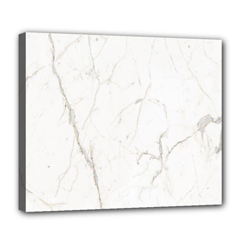 White Marble Tiles Rock Stone Statues Deluxe Canvas 24  X 20   by Simbadda