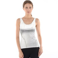 White Marble Tiles Rock Stone Statues Tank Top