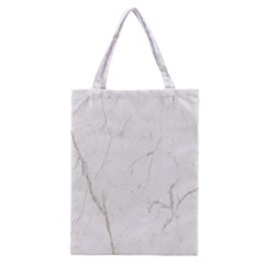 White Marble Tiles Rock Stone Statues Classic Tote Bag