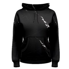 Black Marble Tiles Rock Stone Statues Women s Pullover Hoodie
