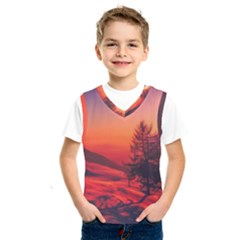 Italy Sunrise Sky Clouds Beautiful Kids  Sportswear by Simbadda