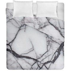 Marble Tiles Rock Stone Statues Duvet Cover Double Side (california King Size) by Simbadda