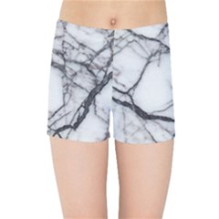 Marble Tiles Rock Stone Statues Kids Sports Shorts