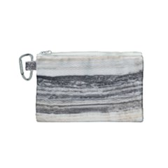 Marble Tiles Rock Stone Statues Pattern Texture Canvas Cosmetic Bag (small) by Simbadda
