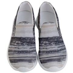 Marble Tiles Rock Stone Statues Pattern Texture Men s Lightweight Slip Ons
