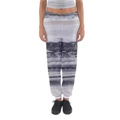 Marble Tiles Rock Stone Statues Pattern Texture Women s Jogger Sweatpants