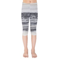 Marble Tiles Rock Stone Statues Pattern Texture Kids  Capri Leggings