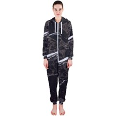 Marble Tiles Rock Stone Statues Hooded Jumpsuit (ladies)