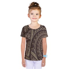 Abstract Pattern Graphics Kids  One Piece Tee