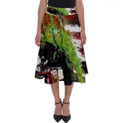 Collosium   Swards And Helmets 3 Perfect Length Midi Skirt by bestdesignintheworld