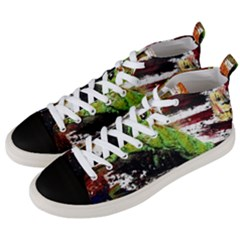 Collosium   Swards And Helmets 3 Men s Mid Top Canvas Sneakers by bestdesignintheworld