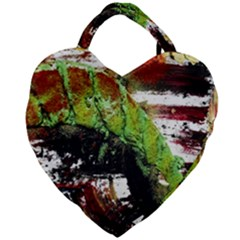 Collosium   Swards And Helmets 3 Giant Heart Shaped Tote by bestdesignintheworld
