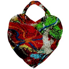 Coffee Land 1 Giant Heart Shaped Tote by bestdesignintheworld