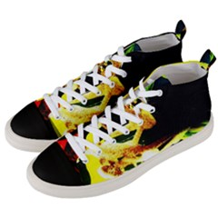 Drama 2 Men s Mid Top Canvas Sneakers by bestdesignintheworld