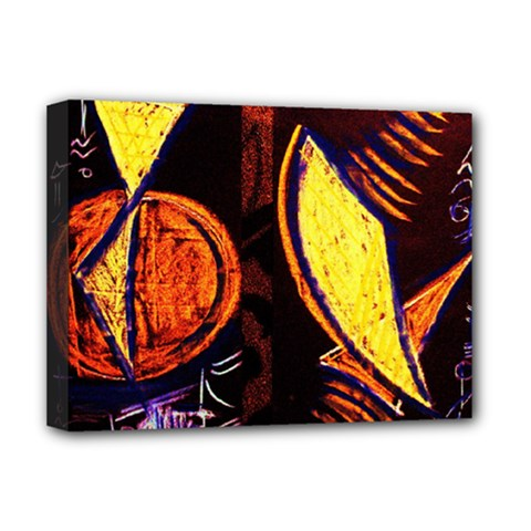 Cryptography Of The Planet Deluxe Canvas 16  X 12   by bestdesignintheworld