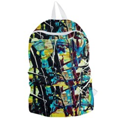 Dance Of Oil Towers 3 Foldable Lightweight Backpack by bestdesignintheworld