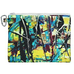 Dance Of Oil Towers 3 Canvas Cosmetic Bag (xxl) by bestdesignintheworld