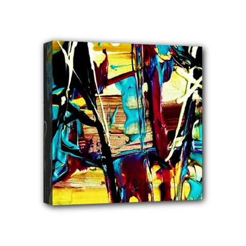 Dance Of Oil Towers 4 Mini Canvas 4  X 4  by bestdesignintheworld