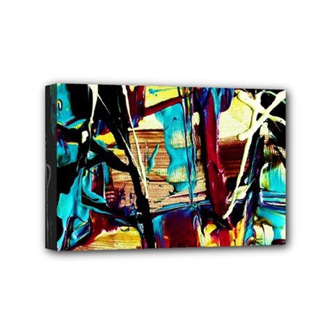 Dance Of Oil Towers 4 Mini Canvas 6  X 4  by bestdesignintheworld