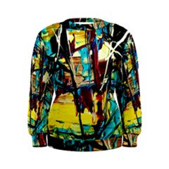 Dance Of Oil Towers 4 Women s Sweatshirt by bestdesignintheworld