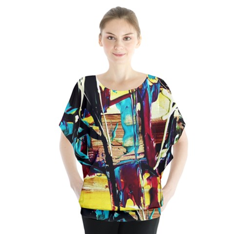 Dance Of Oil Towers 4 Blouse by bestdesignintheworld