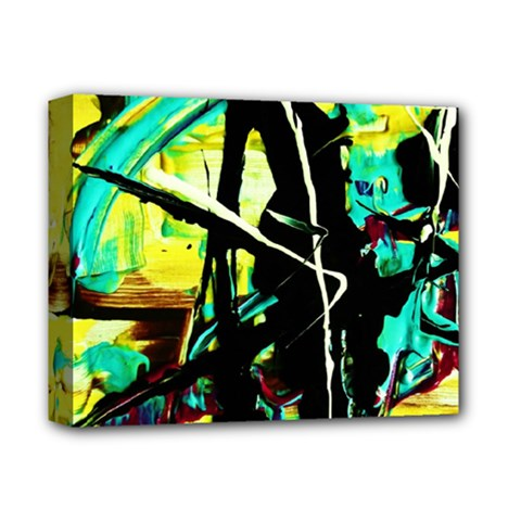 Dance Of Oil Towers 5 Deluxe Canvas 14  X 11  by bestdesignintheworld