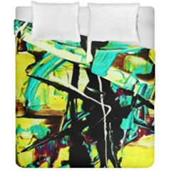 Dance Of Oil Towers 5 Duvet Cover Double Side (california King Size) by bestdesignintheworld