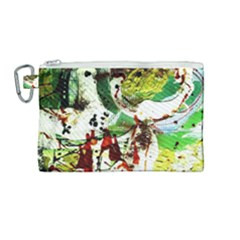 Doves Matchmaking 12 Canvas Cosmetic Bag (medium) by bestdesignintheworld