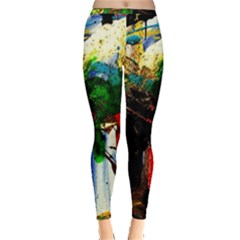 Catalina Island Not So Far 6 Inside Out Leggings