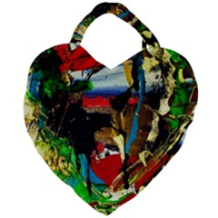 Catalina Island Not So Far 7 Giant Heart Shaped Tote by bestdesignintheworld