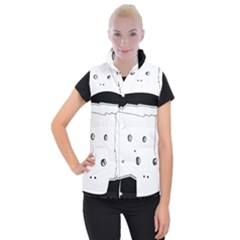 Drawing  Women s Button Up Vest by ValentinaDesign