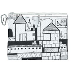 Drawing  Canvas Cosmetic Bag (xxl) by ValentinaDesign