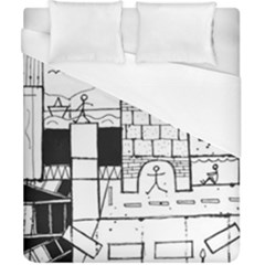 Drawing  Duvet Cover (california King Size)