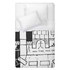 Drawing  Duvet Cover (single Size)
