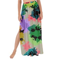 Colorful Spots                                 Maxi Chiffon Tie-up Sarong by LalyLauraFLM
