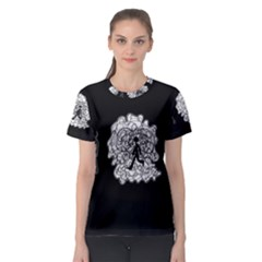 Drawing  Women s Sport Mesh Tee