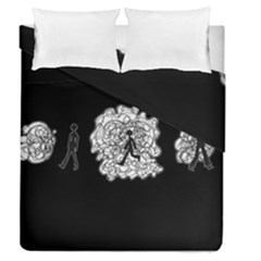 Drawing  Duvet Cover Double Side (queen Size)