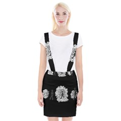 Drawing  Braces Suspender Skirt