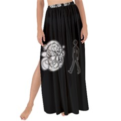 Drawing  Maxi Chiffon Tie Up Sarong