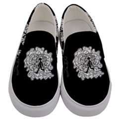 Drawing  Men s Canvas Slip Ons