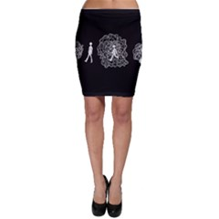 Drawing  Bodycon Skirt