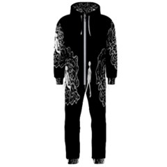 Drawing  Hooded Jumpsuit (men)