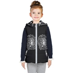 Drawing  Kid s Hooded Puffer Vest