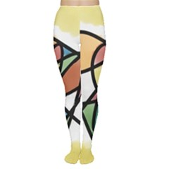 Abstract Art Colorful Women s Tights by Modern2018