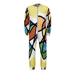 Abstract Art Colorful Onepiece Jumpsuit (kids)